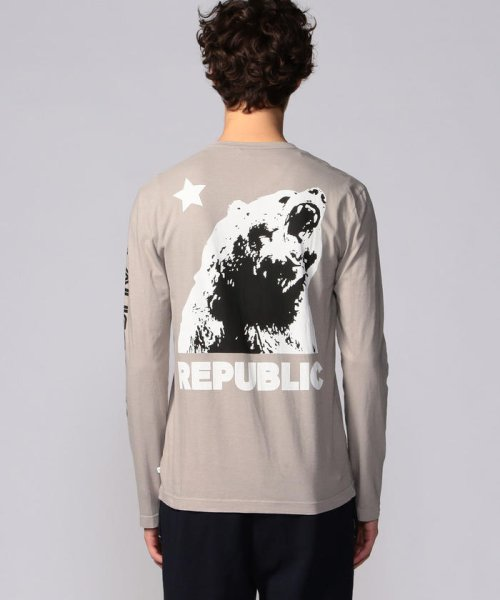 JAMES PERSE(JAMES PERSE)/グラフィックプリント 長袖Tシャツ MLJ3351NU/18039403303_img04