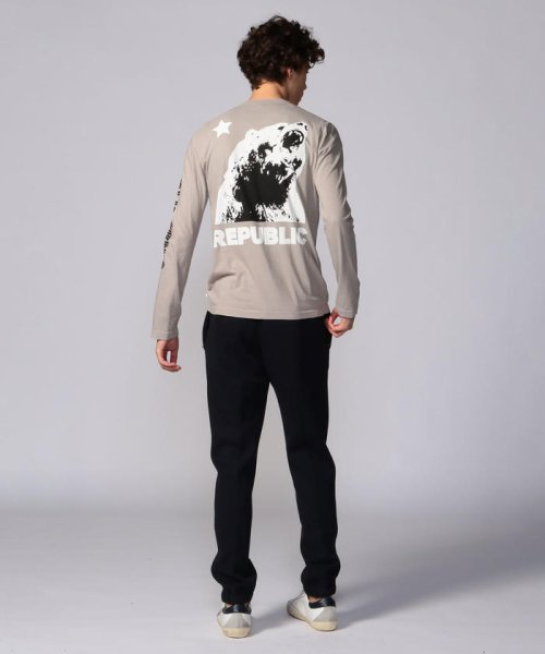 JAMES PERSE(JAMES PERSE)/グラフィックプリント 長袖Tシャツ MLJ3351NU/18039403303_img14
