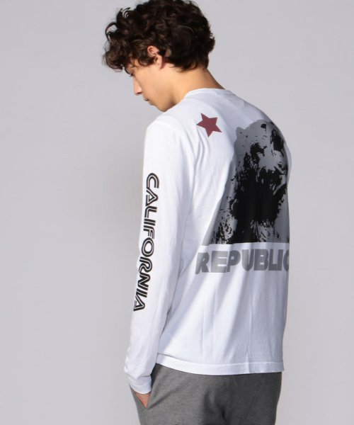JAMES PERSE(JAMES PERSE)/グラフィックプリント 長袖Tシャツ MLJ3351NU/18039403303_img16