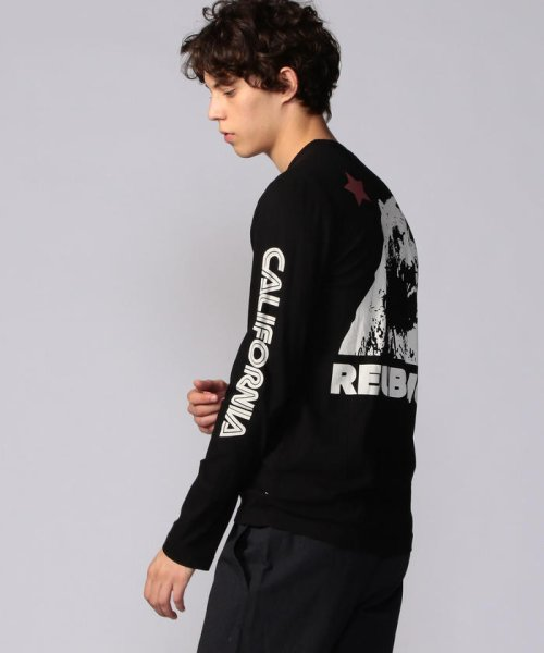 JAMES PERSE(JAMES PERSE)/グラフィックプリント 長袖Tシャツ MLJ3351NU/18039403303_img21