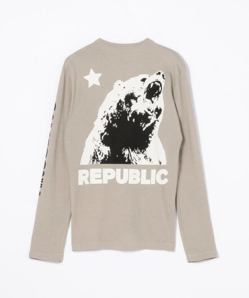 JAMES PERSE(JAMES PERSE)/グラフィックプリント 長袖Tシャツ MLJ3351NU/18039403303_img25