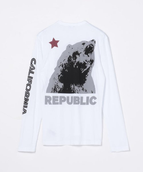 JAMES PERSE(JAMES PERSE)/グラフィックプリント 長袖Tシャツ MLJ3351NU/18039403303_img26