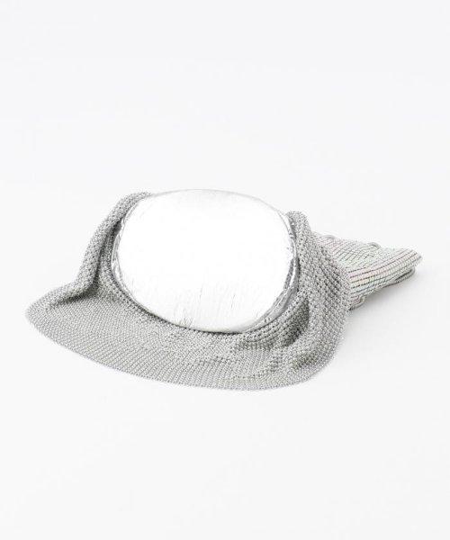 KUMIKYOKU(組曲)/【WEB限定】メタルメッシュフリル巾着 バッグ/BOW1KW0743_img06