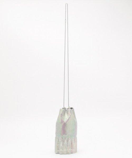 KUMIKYOKU(組曲)/【WEB限定】メタルメッシュフリル巾着 バッグ/BOW1KW0743_img07