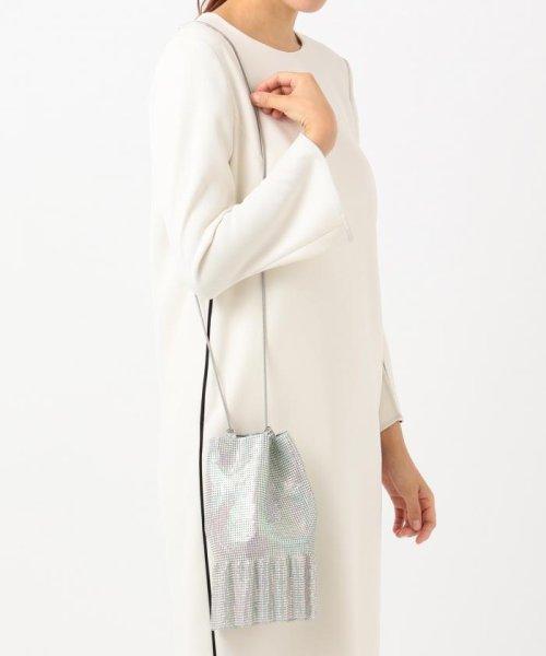 KUMIKYOKU(組曲)/【WEB限定】メタルメッシュフリル巾着 バッグ/BOW1KW0743_img09