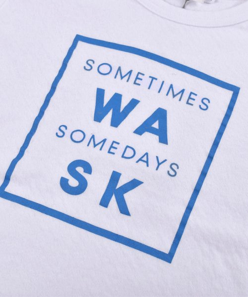 WASK(ワスク)/ロゴ星プリント接結Tシャツ(110cm~130cm)/1355170355_img02