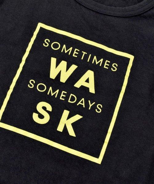 WASK(ワスク)/ロゴ星プリント接結Tシャツ(110cm~130cm)/1355170355_img06