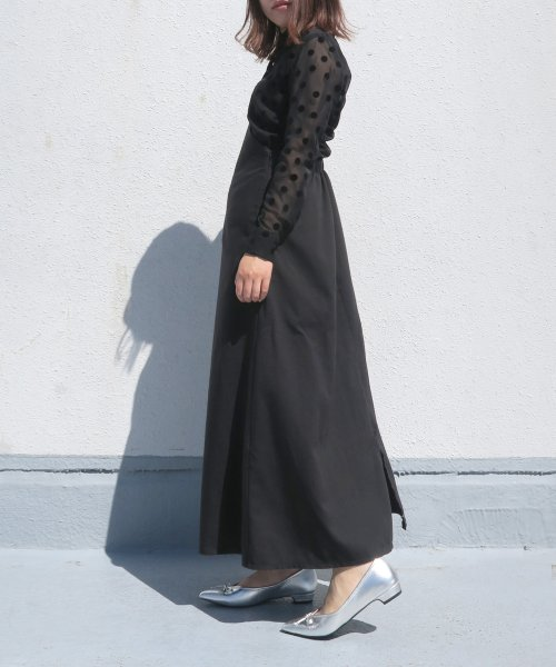 Esmeralda(エスメラルダ)/【mio notis/ミオノティス】Vカットバレエパンプス/972M_img02