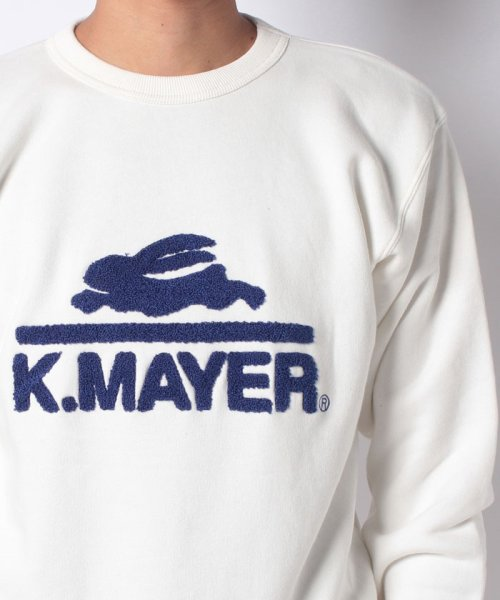 KRIFF MAYER(クリフ メイヤー)/裏起毛スウェット(ロゴ)/1933100_img03