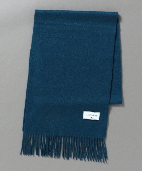 SHIPS JET BLUE(シップス ジェットブルー)/SHIPS JET BLUE: カシミヤ ソリッド マフラー/128380089_img07