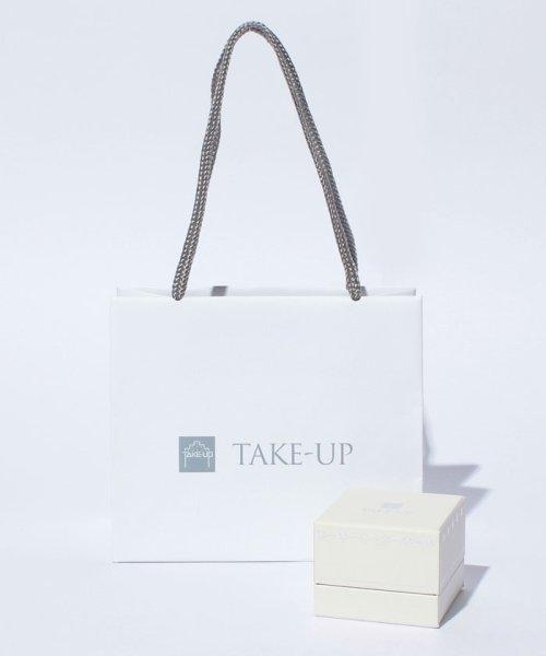 TAKE-UP(テイクアップ)/K10 ダイヤモンド サークルネックレス( WG)/4726933_img03