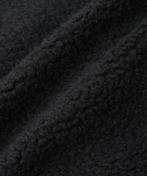 revenil(ルヴニール)/CONERSE コンバース ロゴ刺繍 シープボア ノーカラージャケット/125074_img30