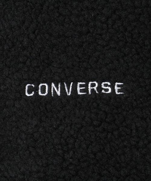 revenil(ルヴニール)/CONERSE コンバース ロゴ刺繍 シープボア ノーカラージャケット/125074_img31