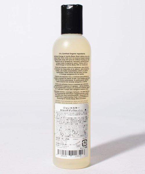John Masters Organics(ジョンマスターオーガニック)/【国内正規品】Blood Orange & Vanilla Body Wash 8 fl oz  236 ml BODYCARE/BWWF_img02