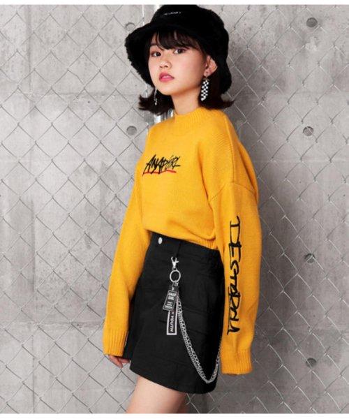 ANAP GiRL(アナップガール)/チェーン付カーゴスカート/2019200026_img04