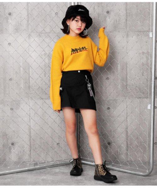 ANAP GiRL(アナップガール)/チェーン付カーゴスカート/2019200026_img06