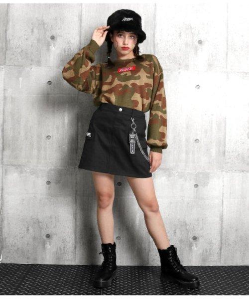 ANAP GiRL(アナップガール)/チェーン付カーゴスカート/2019200026_img11