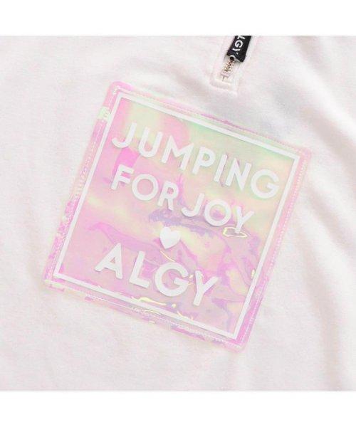 ALGY(アルジー)/フロントジップオーロラトレーナーワンピ/G417989_img03
