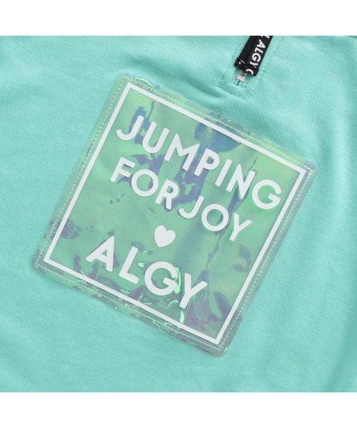 ALGY(アルジー)/フロントジップオーロラトレーナーワンピ/G417989_img11