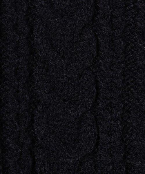 coen(コーエン(キッズ))/【coen キッズ / ジュニア】アクリルケーブルラインカーディガン/77376069100_img17