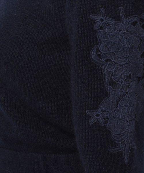 Debut de Fiore(デビュー・ド・フィオレ)/袖刺繍ニットワンピース/38191110100_img16