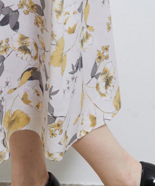 ROPE' PICNIC(ロペピクニック)/アシメタック花柄フレアスカート/GDC10020_img07