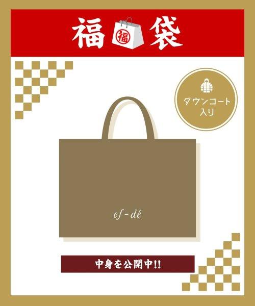 ef-de(エフデ)/【2020年福袋】ef-de ダウンコート入り!2万円/5190299921_img01