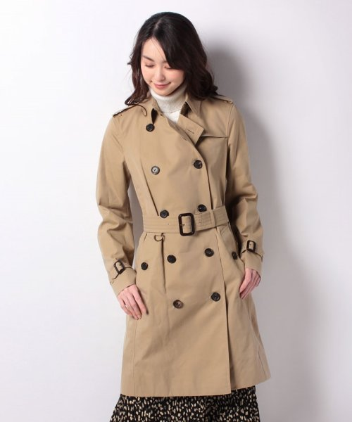 BURBERRY(バーバリー)/Woman's Kensington Long Trench Coat/3900458_img07