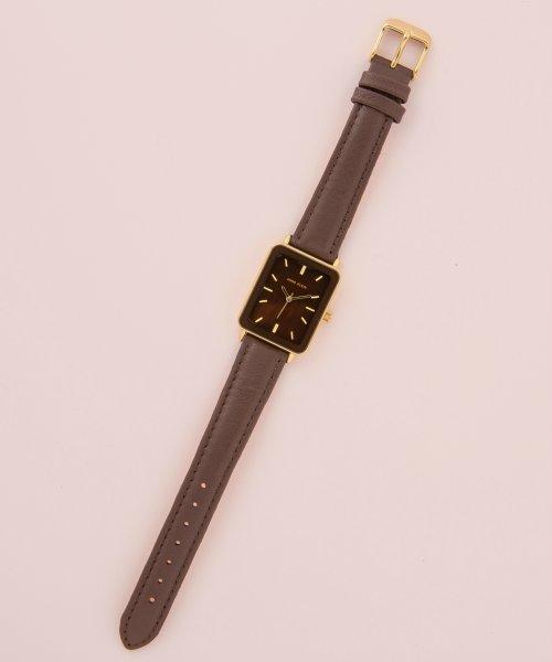 ANNE KLEIN(ANNE KLEIN)/ANNE KLEIN 腕時計 スクエアロングレザーウォッチ/AK/3518_img04