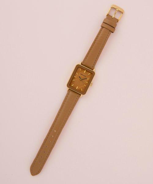 ANNE KLEIN(ANNE KLEIN)/ANNE KLEIN 腕時計 スクエアロングレザーウォッチ/AK/3518_img07