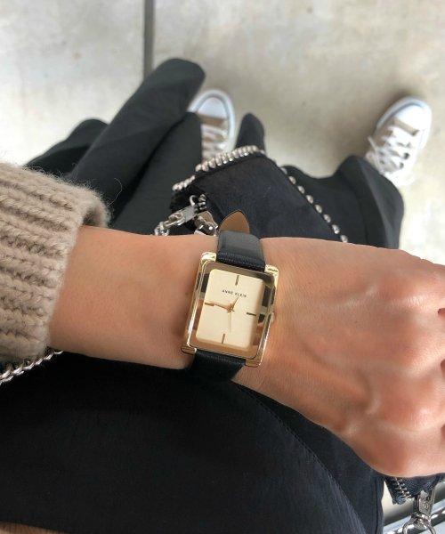 ANNE KLEIN(ANNE KLEIN)/ANNE KLEIN 腕時計 クラシカルレザースクエアウォッチ/AK/2706_img08