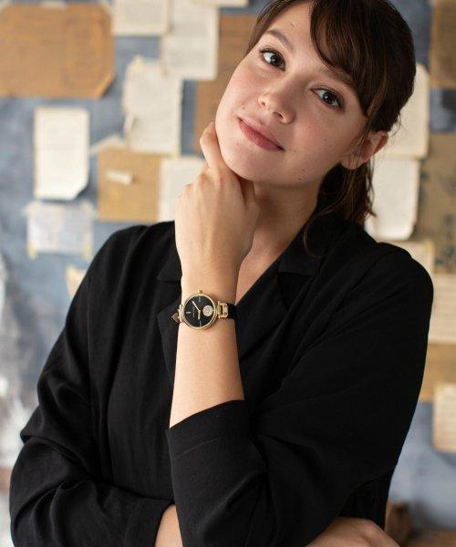 ANNE KLEIN(ANNE KLEIN)/ANNE KLEIN スワロフスキースモールセコンドウォッチ レザーバンド/AK/3380_img05