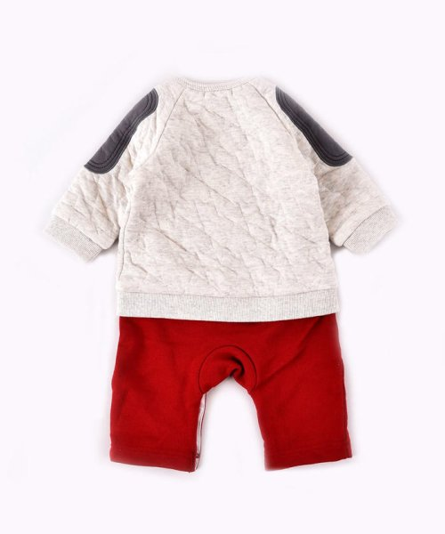 e-baby(イーベビー)/星キルト+裏毛サガラ刺繍カバーオール/183718053_img01