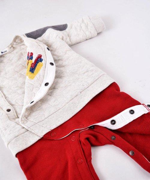 e-baby(イーベビー)/星キルト+裏毛サガラ刺繍カバーオール/183718053_img04