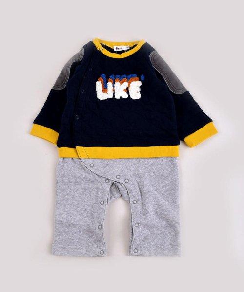 e-baby(イーベビー)/星キルト+裏毛サガラ刺繍カバーオール/183718053_img05