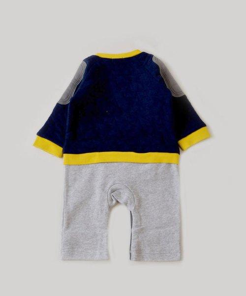 e-baby(イーベビー)/星キルト+裏毛サガラ刺繍カバーオール/183718053_img06