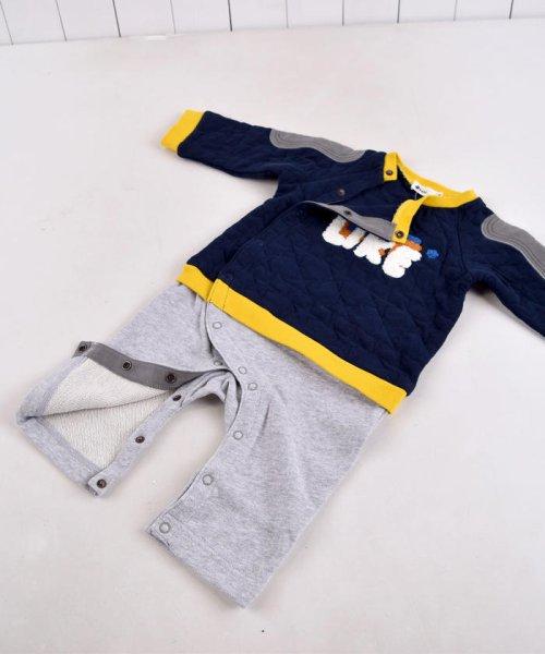 e-baby(イーベビー)/星キルト+裏毛サガラ刺繍カバーオール/183718053_img09