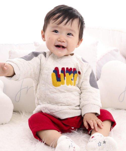e-baby(イーベビー)/星キルト+裏毛サガラ刺繍カバーオール/183718053_img11