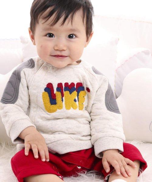 e-baby(イーベビー)/星キルト+裏毛サガラ刺繍カバーオール/183718053_img12
