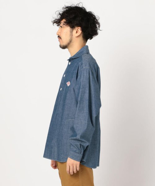GLOSTER(GLOSTER)/【DANTON/ダントン】丸えりオックスシャツ#JD-3568 YOX/COC/0-0619-1-51-001_img02