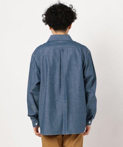 GLOSTER(GLOSTER)/【DANTON/ダントン】丸えりオックスシャツ#JD-3568 YOX/COC/0-0619-1-51-001_img03