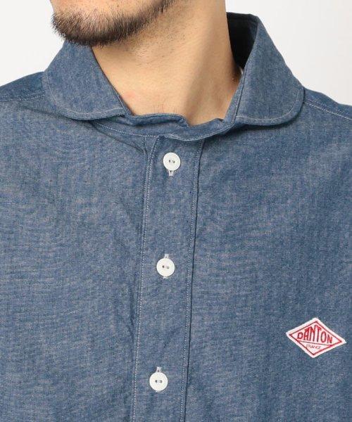 GLOSTER(GLOSTER)/【DANTON/ダントン】丸えりオックスシャツ#JD-3568 YOX/COC/0-0619-1-51-001_img04