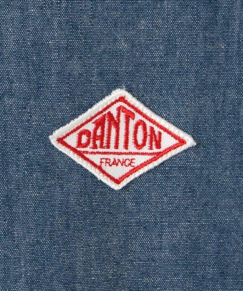 GLOSTER(GLOSTER)/【DANTON/ダントン】丸えりオックスシャツ#JD-3568 YOX/COC/0-0619-1-51-001_img08