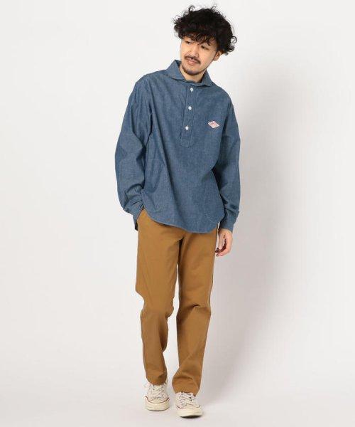 GLOSTER(GLOSTER)/【DANTON/ダントン】丸えりオックスシャツ#JD-3568 YOX/COC/0-0619-1-51-001_img10