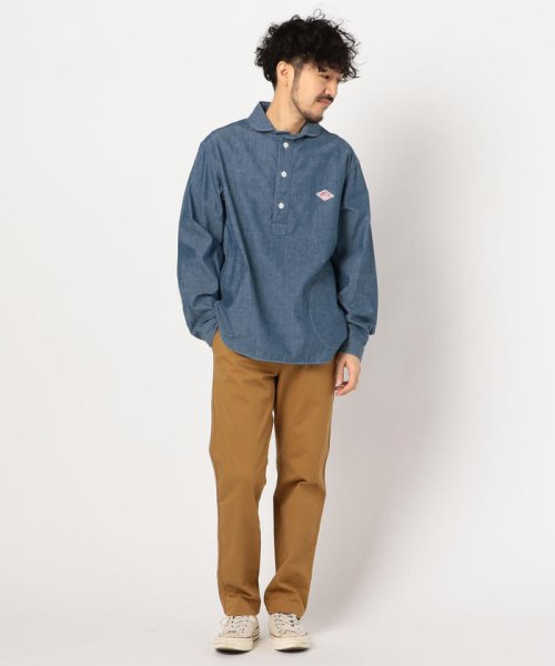 GLOSTER(GLOSTER)/【DANTON/ダントン】丸えりオックスシャツ#JD-3568 YOX/COC/0-0619-1-51-001_img11