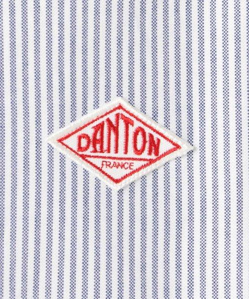 GLOSTER(GLOSTER)/【DANTON/ダントン】丸えりチェック/ストライプシャツ #JD-3568 TRD/0-0619-1-51-002_img08