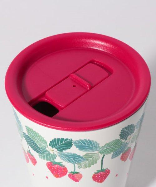 Afternoon Tea LIVING(アフタヌーンティー・リビング)/イチゴ蓋付きステンレスマグカップ/GJ5719309961_img01