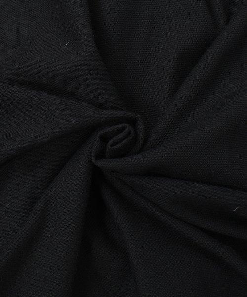 felt maglietta(フェルトマリエッタ)/袖が長めでゆるシルエットが可愛いBIGシルエット袖WラインラグランロングTシャツ/am255_img04