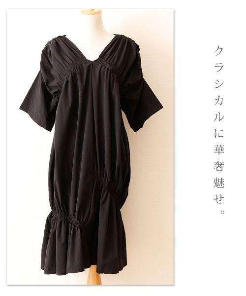 Sawa a la mode(サワアラモード)/シャーリングデザインが素敵なワンピース/mode-4583_img10