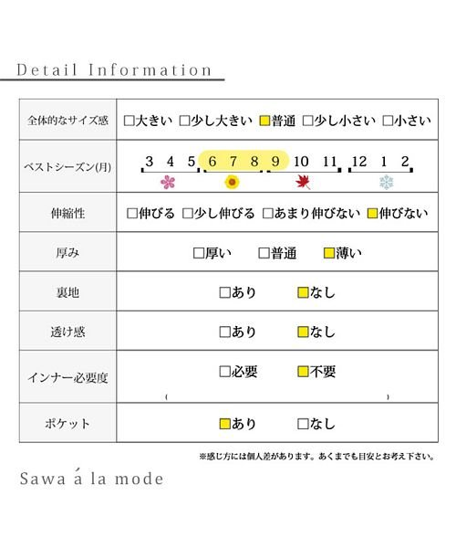 Sawa a la mode(サワアラモード)/シャーリングデザインが素敵なワンピース/mode-4583_img19